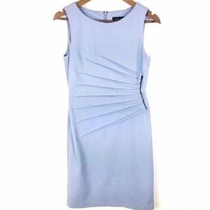 Ivanka Trump Starburst Sky Blue Dress Sz 6